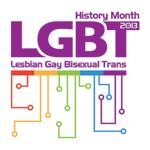 2013 LGBT History Month logo