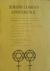 Jewish Lesbian Conference No 2 (1985)