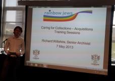 Rainbow Jews training