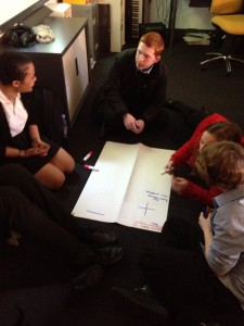 Mind-mapping with Stoke Newington Focus Group