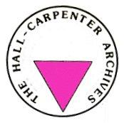 The Hall Carpenter Archives logo