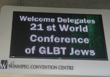 World Congress of GLBT Jews in Winnipeg, Canada