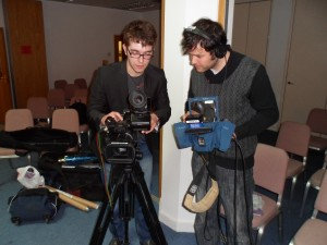 Portsmouth University Film students in action