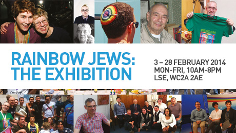 February 2014 the Rainbow Jews oral history and archive collection launches with a ground-breaking exhibition