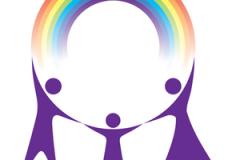 Karen Newman & Susan Crane: a happy Rainbow family